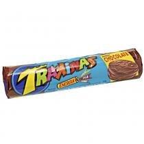 Biscoito Recheado Trakinas Chocolate 136g - Nabisco -