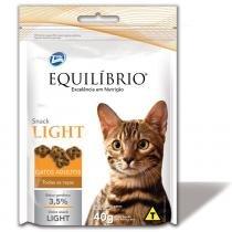 Biscoito Total Equilíbrio Snack Light para Gatos Adultos - 40 g - Total alimentos