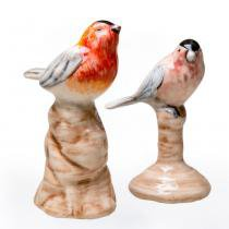 Black Stripe Birds - 2 peças - Soul home