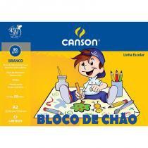 Bloco De Chao A2 90 Gr 30f Branco Canson - 1