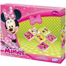 Bloco de Montar 32 Peças Disney Minnie - Xalingo