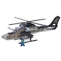 Bloco de Montar Aliança Justiça e Paz Ofensiva - Aérea Beta Helicóptero de Guerra Xalingo