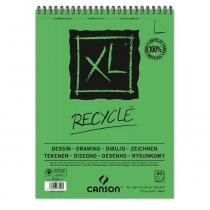 Bloco espiralado canson xl recycle 160g/m² a3 29.7x42 com 50 folhas - 60777129 -