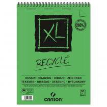Bloco Espiralado Canson XL Recycle 160g/m² A4 21x29.7 com 50 Folhas - 200777128 -