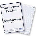 Bloco Fichario 4 Furos 50f Quadriculado 5x5mm Tamoio - 1