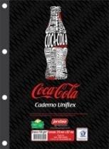 Bloco Fichario 96 Folhas Coca-Cola 50175 Jandaia - 1