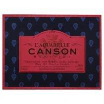 Bloco LAquarelle Canson Héritage Grano Satinado 300g/m² 23 x 31 cm Com 20 Folhas - 60720007 -