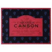 Bloco LAquarelle Canson Héritage Grano Satinado 300g/m² 26 x 36 cm Com 20 Folhas - 60720008 -