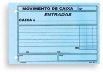 Bloco Movimento De Caixa Entradas 100f 155x105 687 - 953058