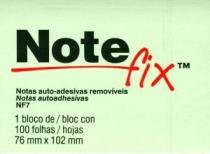 Bloco Note Fix Nf7 100 Folhas 76x102mm Verde Hb00416099 3m - 952370