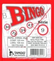 Bloco Para Bingo 100fls Pacote Com 02un 06001 Tamoio - 953115