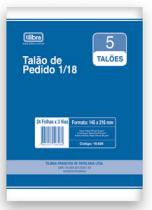 Bloco Pedido 1/18 24x3fls 15158 Tilibra - 953132