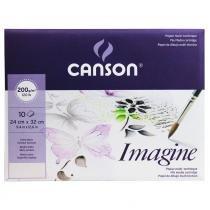 Bloco pochette imagine a4+ 24 x 32 cm 200 g/m² - 6373 - Canson