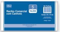Bloco Recibo Comercial Com Canhoto 50fls 15145 Til - 953132
