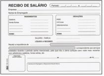 Bloco Recibo De Salario 100fls 15018 Tilibra - 953132