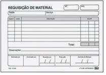 Bloco Requisicao Material Simples 50fls 15230 Tili - 953132
