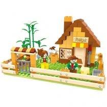 Blocos de Montar 243 Peças Bee Blocks - Vida na Fazenda - Bee Me Toys