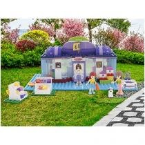 Blocos de Montar 302 Peças Bee Blocks - Pet Shop Animal - Bee Me Toys