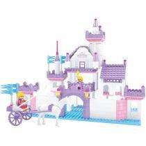 Blocos de Montar 368 Peças Bee Blocks - Casa dos Sonhos - Cidade Fashion - Bee Me Toys