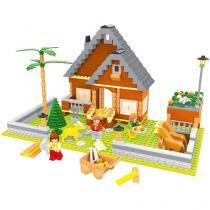 Blocos de Montar 372 Peças Bee Blocks - Fazenda - Sítio do Melito - Bee Me Toys