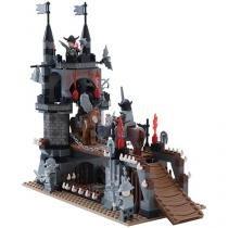 Blocos de Montar 459 Peças Bee Blocks - Piratas - Cavaleiros do Rei - Bee Me Toys