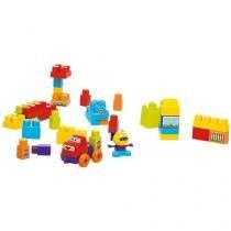 Blocos de Montar 97 Peças Super Blocks - Calesita