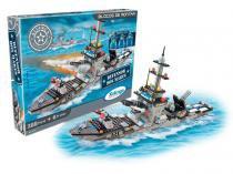 Blocos de Montar Aliança Justiça - e Paz Defensor dos Mares 388 Peças Xalingo