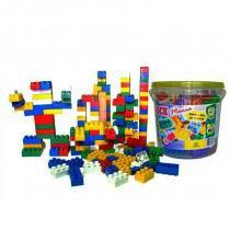 Blocos de Montar Block Mania com 104 Peças Alfem Plastic 6000 -
