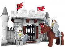 Blocos para Montar Medieval Reino dos Cavaleiros  Xalingo
