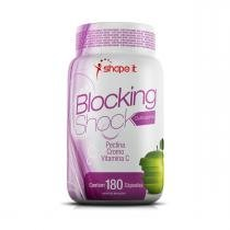 Bloqueador de gordura Blocking Shock (180 Cápsulas) - Shape it