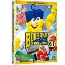 Blu-Ray 3D - Bob Esponja O Filme - Um Herói Fora DÁgua - Paramount -