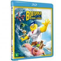 Blu-Ray - Bob Esponja O Filme - Um Herói Fora DÁgua - Paramount -
