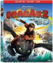 Blu-Ray Como Treinar O Seu Dragão 2 3d (Bd 3d + Bd 2d + DVD) - 1