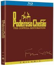 Blu-Ray O Poderoso Chefão - The Coppola Restoration (3 Bds) - 952988