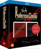 Blu-Ray O Poderoso Chefão - The Coppola Restoration (4 Bds + Baralho) - 952988