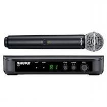 BLX24BRSM58 - Microfone s/ Fio de Mão BLX 24BR SM58 - Shure - Shure