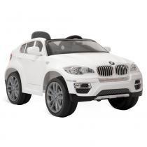 BMW X6 Elétrica Branca 6V com Controle Remoto Bandeirante - Bandeirante