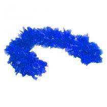 Boá Grosso Azul Escuro - Festabox