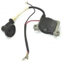 Bobina elétrica (módulo de ignição) para roçadeira a gasolina de 43cc e 52cc (4 em 1) - Brutatec