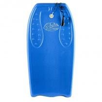 Bodyboard grande com leash - azul - Mor