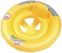 Boia Circular Swim Safe Bel Fix para Bebê 69 cm Assento em X - 69 CM - MORMAII