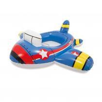Boia com assento Baby Kiddie Intex Bombeiro Polícia ou Avião 15kg -
