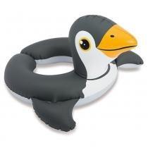 Bóia com Cabeça Zôo Pinguim Média - Intex -