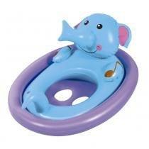 Boia inflável oval com fralda bichinhos mor - elefante -