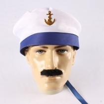 Boina Marinheiro com Aba Azul Aluá festas
