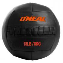Bola de Couro para Crossfit e Treinamento Funcional 8 Kg Oneal Wall Ball -