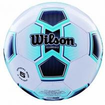 b6d462b064 Bola de Futebol de Campo Illusive N.5 + Bomba de Ar Azul Wilson -