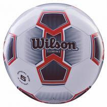 6e6c655e24 Bola de Futebol de Campo Illusive N.5 + Bomba de Ar Vermelha Wilson -