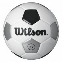 Bola de Futebol de Campo Tradicional N.5 Branca e Preta + Bomba de Ar 56a4f1188d45e