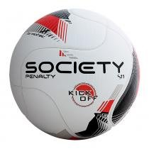 Bola De Futebol Society Penalty 8 R1 Kick Off - d26a7602285e0